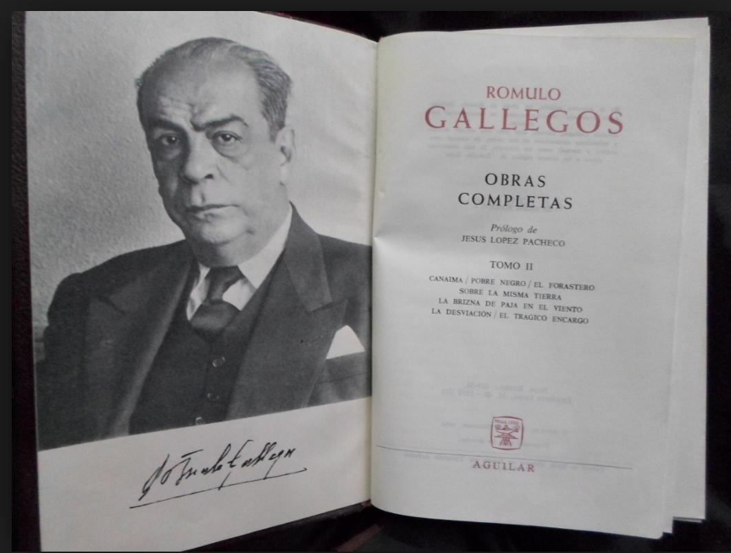 Quién Fue Rómulo Gallegos Frases Digital News